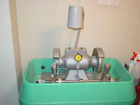 thin section machine
