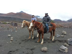 Horseback Riding on Haleakala Volcano