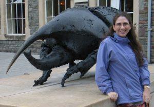 Allison at the Society of Vertebrate Paleontology