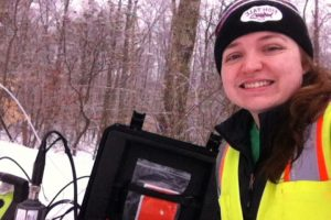 Groundwater sampling in Connecticut
