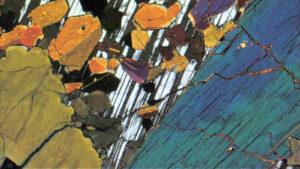 Petrographic Image of Amphibole